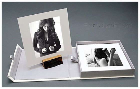 New item! Stunning Presentation Box for your boudoir images