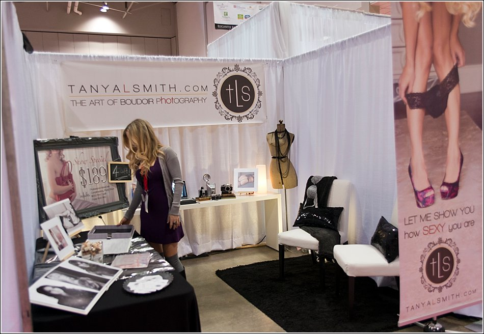 Bridal Show Boudoir Set Up Tanya Smith Modern Portraits