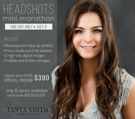 Speedy Headshots at a Discount!
